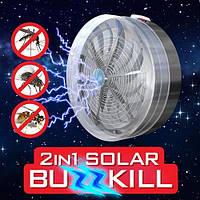 Средство от комаров, защита от комаров, электрическая мухобойка, solar buzzkill, прибор для уничтожения насекомых, средство от комаров на даче,