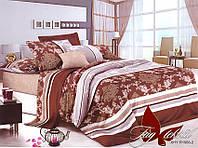 Полуторный комплект постельного белья ранфорс R1988 ТM TAG