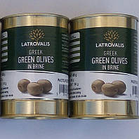 Греческие оливки Latrovalis 0,2кг