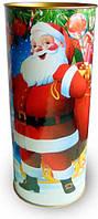 Подарочная Новогодняя упаковка - тубус на 550 грамм