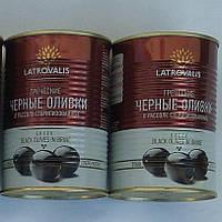Греческие маслины Latrovalis 0,2кг