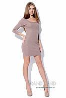Женское платье-туника со стразами, размер 42-44