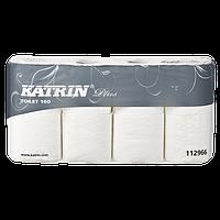 Туалетная бумага в стандартных рулонах Katrin Plus