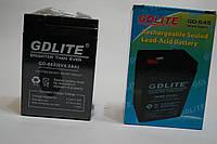 Аккумулятор 2015  АКБ GD-LITE GD-645  6v 40AH