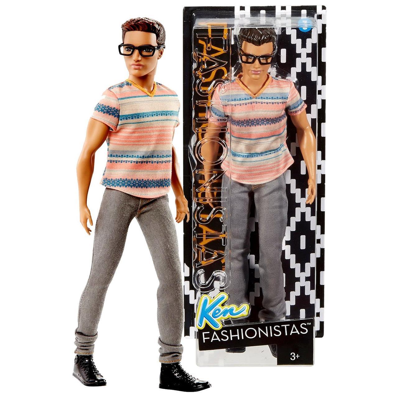 Кукла Barbie KEN №3 Кен в очках (DMF41)
