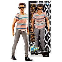 Кукла Barbie KEN №3 Кен в очках (DMF41), фото 1