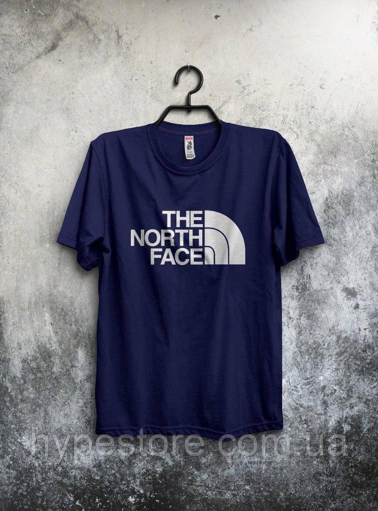 Футболка мужская The North Face (темно-синий), Реплика