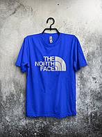 Футболка мужская The North Face (синий), Реплика