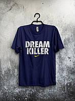 Футболка мужская Nike Dream Killer (темно-синий), Реплика
