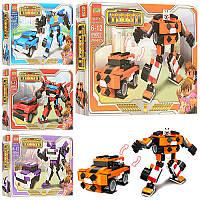 Конструктор трансформер Тобот (робот машина), от 204 деталей, 4 вида, в коробке 29-21-4,5 см 89001