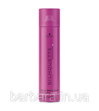Лак для яркости цвета волос  SILHOUETTE Color Brilliance Strong Hold Hairspray 500 мл