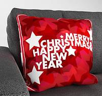 """Декоративная подушка """"Merry Christmas & Happy New Year"""""""