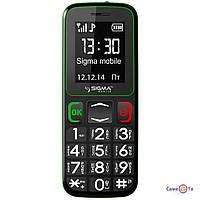 Мобільний телефон Sigma mobile Comfort 50 Бабушкофон, 1000483, мобільний телефон для літніх людей, стільникови