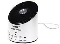 Портативная Bluetooth колонка WS-887 Mini Speaker с MP3 и pадио, 1001059, портативная колонка, колонка портативная с радио, муз портативная колонка с
