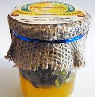Мед с тыквенными семечками, Эко-медок (350мл)