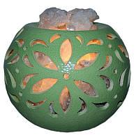 Соляная лампа Флора шар Ваше здоровье 3,5 кг