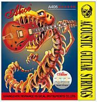 Струны для акустической гитары Alice A406-L (в комплекте 6 струн), 1001495, струны для акустической гитары, лучшие струны для акустической гитары,