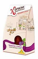 Шоколадные конфеты чернослив с орехом в шоколаде Стевиясан, 150 грамм