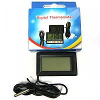Термометр DC-2 JS-10 для измерения температуры с выносным датчиком 4001070 термометр, Термометр DC-2 JS-10, термометр электронный, цифровой термометр,