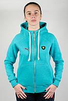 Женская зимняя спортивная кофта Puma Scuderia Women (puma-scuderia-women-z2)
