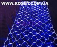 Светодиодная LED гирлянда сетка 1,6х2м, фото 1