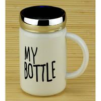 Термокружка керамическая My bottle  белая 550 мл.