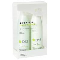 Набор для ежедневного ухода за волосами (шампунь+кондиционер) D12/16 2 шт. х 250 мл. Erayba