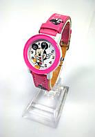 Детские часы с Мики: 100-46 розовый
