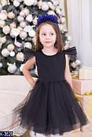 Детское нарядное платье с фатиновой юбкой