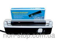 ТОП ВИБІР! Детектор валют, аппарат проверки денег, ультрафиолетовый детектор валют, портативный детектор валют, карманный детектор валют,