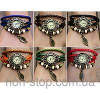 ТОП ВЫБОР! Часы - браслет, винтажные женские часы, наручные женские часы, часы на кожаном ремешке, ви 1000615