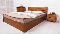Кровать Sofi V -София V с подъемной рамой ТМ Олимп (деревянная полуторная двуспальная)