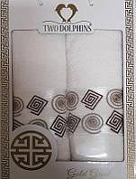 ТМ TAG Набор махровых полотенец Gold greek crema