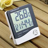 ЛУЧШАЯ ЦЕНА! Термометр гигрометр цифровой HTC-1 для дома - измерение температуры и влажности, 5001365, термометр гигрометр, гигрометр и термометр