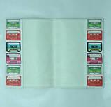 Обложка на Паспорт Обложка на паспорт Кассеты Кожзам 14.0 x 9.5 x 0.8 см, фото 2