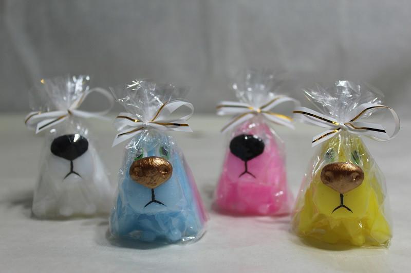 Свічка Новорічна Свічка Собака Великий ніс 4.5 x 4.0 x 0.0 см