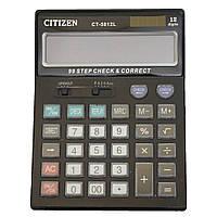 Калькулятор для бухгалтеров и не только citizen 5812, коррекция 99 последних чисел, автоотключение, клавиша 00, фото 1