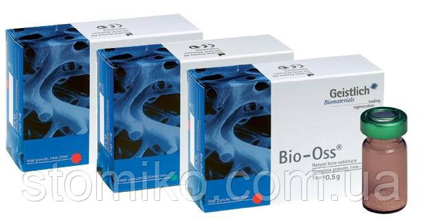 Костный заменитель Bio-Oss® Spongiosa Granules 1,0гр, размер S
