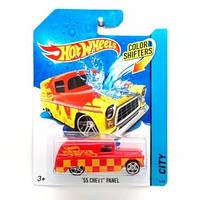 Машинка меняющая цвет 55 CHEVY PANEL Hot Wheels, BHR15