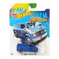 Машинка меняющая цвет `77 Dodge Custom Van Hot Wheels, BHR15