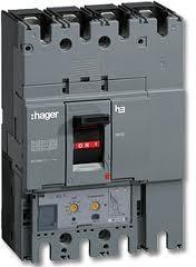 Автоматичний силовий вимикач h630, In=630А, 3п, 50kA, LSI (Hager)