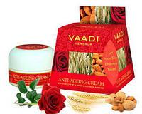 Омолаживающий крем Миндаль, зародыши пшеницы и роза Ваади 30 гр (Anti-Ageing cream Vaadi Herbal)