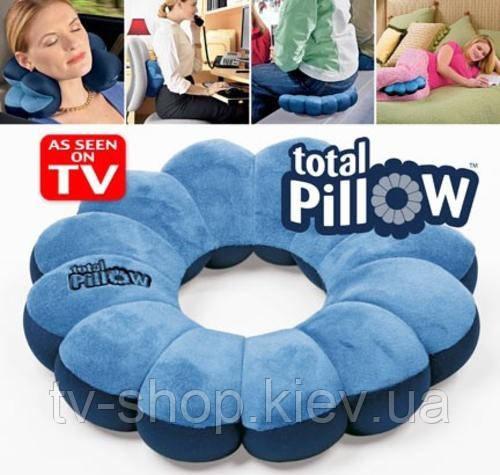 Подушка 5 в 1 Total Pillow (красная)