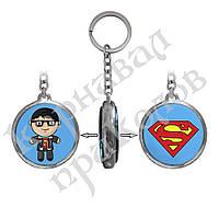 Брелок двухсторонний Супергерои Супермен, фото 1