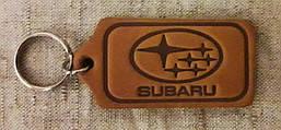 Автомобильный брелок Subaru (Субару), брелки для автомобильных ключей, автобрелки, брелок кожаный