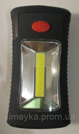 Ліхтар SMP LED на магніті кишеньковий, 2 режими освітлення 11*6*3 см (з батарейками)