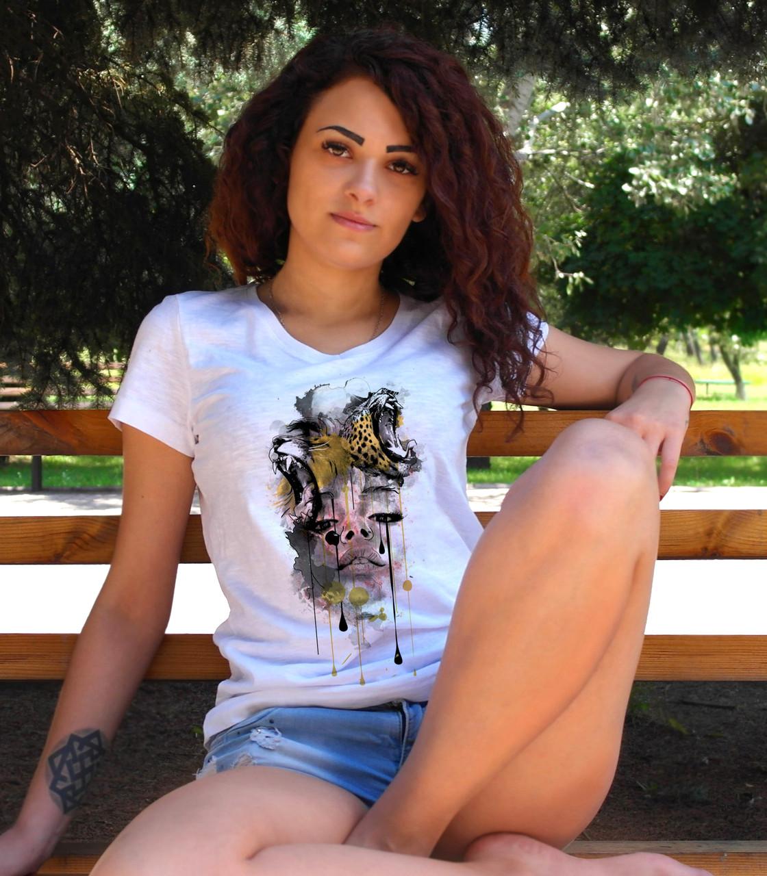 "Женская футболка ""Wild Passion"""