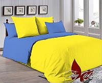 Однотонное постельное белье ткань поплин хлопок 100%