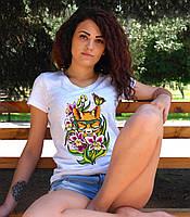"""Женская футболка """"Лиса"""""""