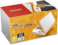 New Nintendo 2DS XL White-Orange (PAL)
